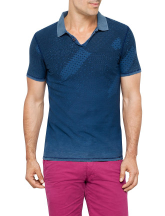 Pachuco Reversable Printed Polo