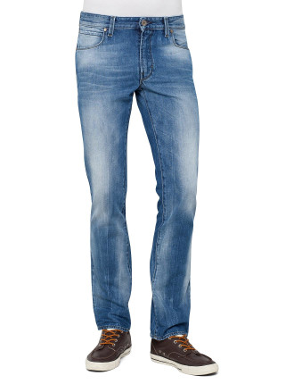 Orange63 Slim Fit Bleached  Jean