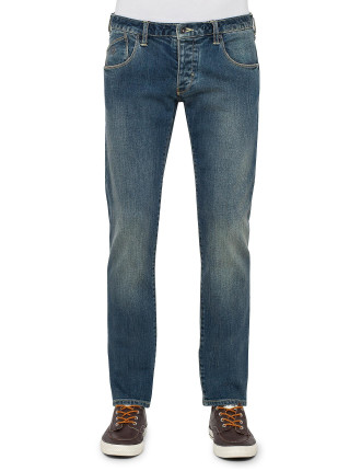 5 Pkt Clean Eagle Badge Gabardine Cotton Stretch Jean