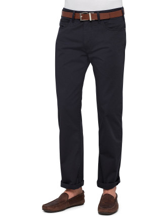 Coin Pocket Blue Budge Comfort Stretch Light Rinse Jean