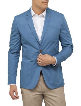 Lightweight Cotton Blazer