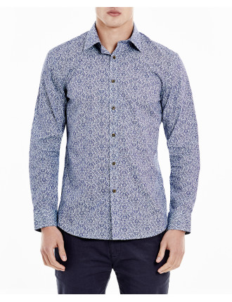 Crosshatch Filagree  Shirt