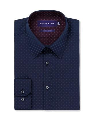 Square Spot Stretch Shirt