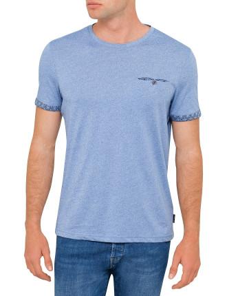 Ss Sleeve Detail T-Shirt