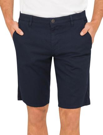 Chino Slim Textured Shorts