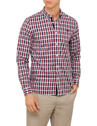 Herringbone Gingham Shirt
