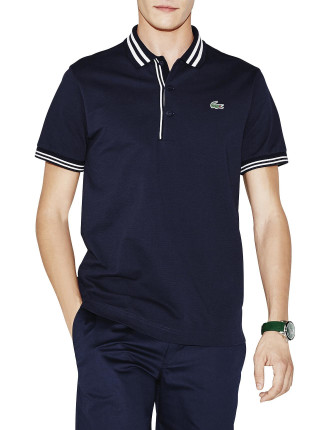 Dual Stripe Collar Polo
