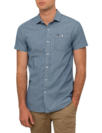 Chambray Shirt S/S Nr 17