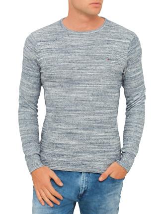 Space Dye Cn Sweater L/S 10