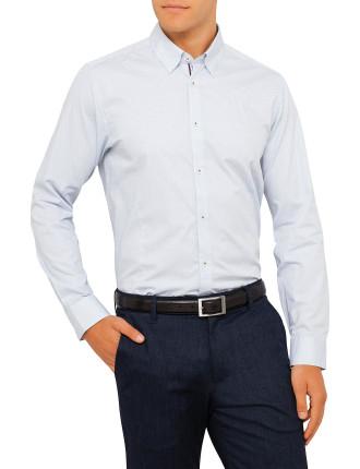 Ls Micro Dobby Shirt