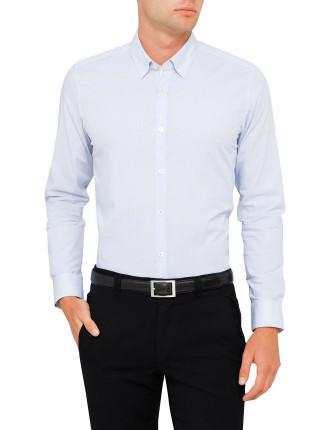 Ls Stripe Dobby Shirt