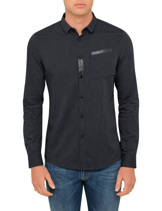 Spotted Mini Slim Fit Shirt