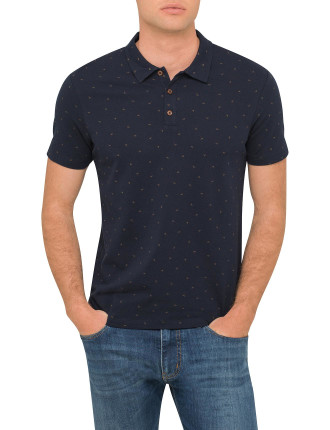Printed Eagle Polo