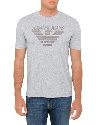 Armani Eagle Large Logo Tee