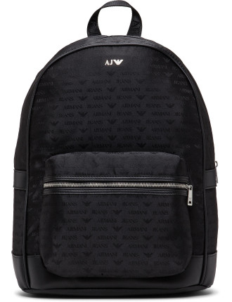 Jacquard All Over Logo Back Pack