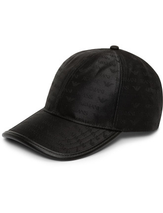 Jacquard All Over Logo Cap