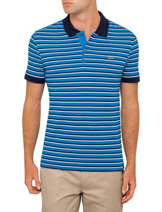 Reg Fit Stripe Polo
