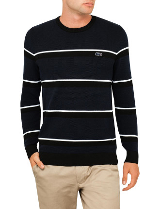 Mif Horizontal Stripe Sweater