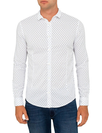Check Textured Shirt