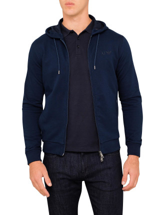 Full Zip Through Hoodie