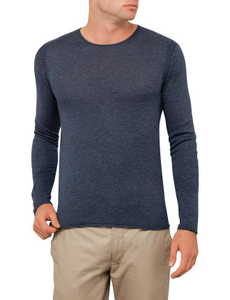 Crew Neck Lightweight Jumper