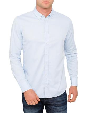 Contrast Fabric Shirt