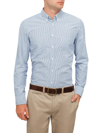 Small Patterened Double Pocket Shirt