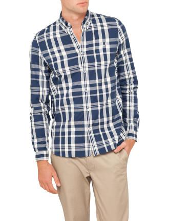 Two-Colour Check Shirt