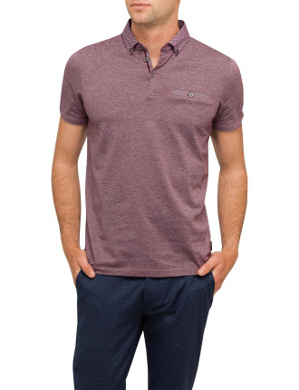 Polo With Contrast Collar