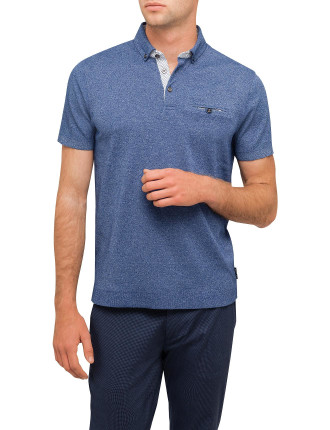 Plain Marl Polo