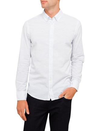 Horizontal Line Print Shirt