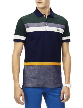 Reg Fit Multi Co Stripe Polo