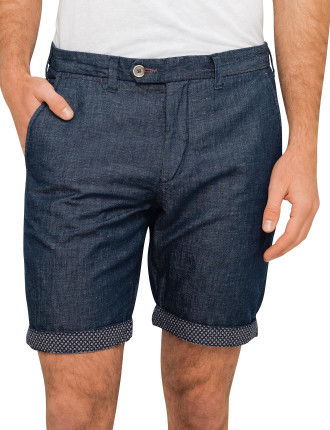Denim Smart Shorts