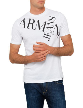 Armani Jeans Chest Text Tee