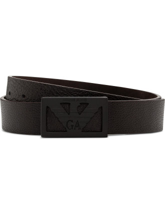 Eagle Square Motif Front Belt
