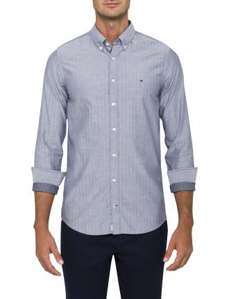 Einston Hbone Shirt Sf2