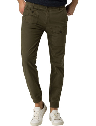 Active Pant Slub Cotton