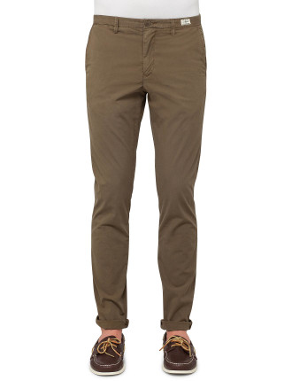 Hudson Chino Str Poplin Lt Weight
