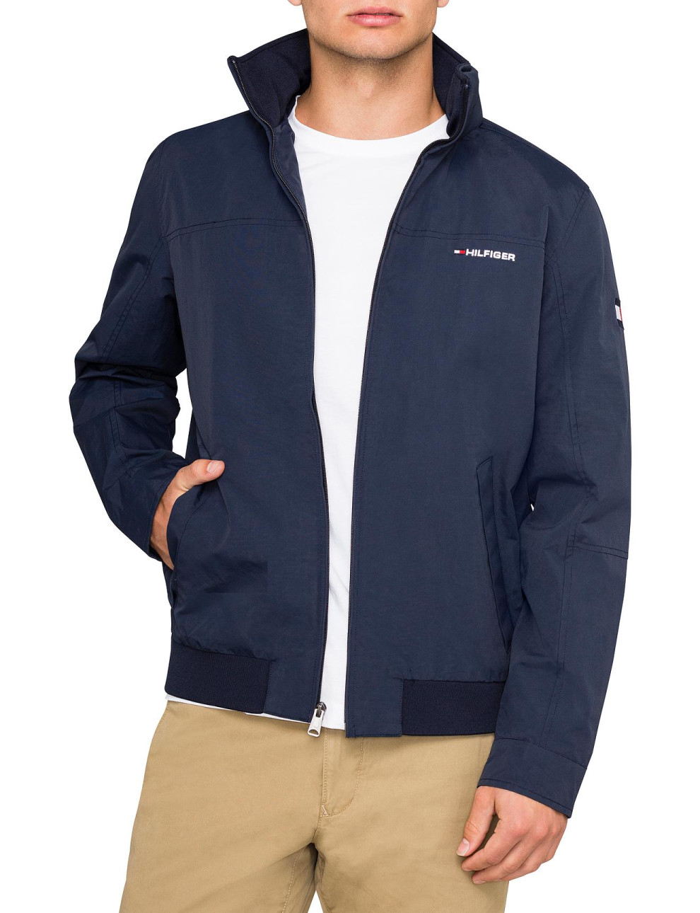 tommy hilfiger navy jacket. Black Bedroom Furniture Sets. Home Design Ideas