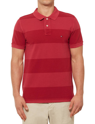 New York Block Stripe Polo
