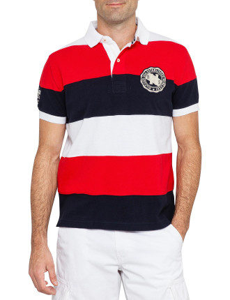 Elim Stripe Polo