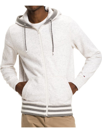 SHAYLEE L/S ZIP THROUGH HOODIE