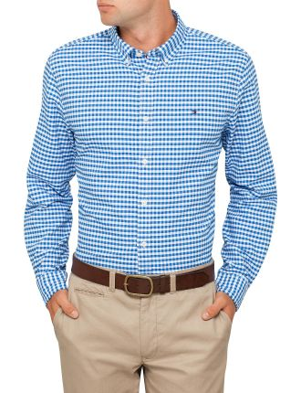 New England Gingham Oxford Shirt