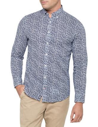 Byram Flower Print Shirt