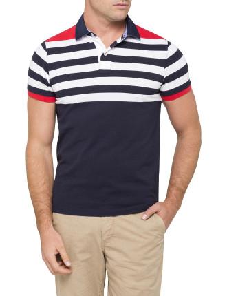 Niels English Stripe Polo
