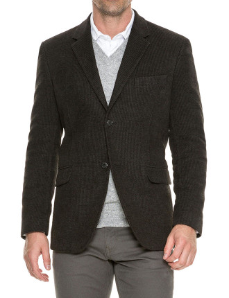 Redruth Jacket Charcoal