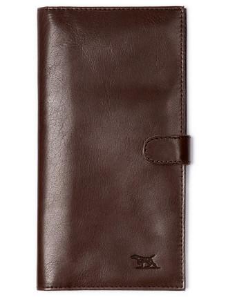 Tom Pearce Travel Wallet Mud