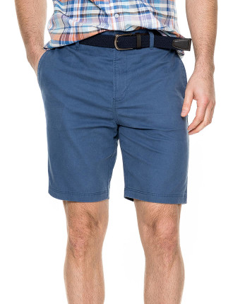 Glenburn Slim Short Indigo