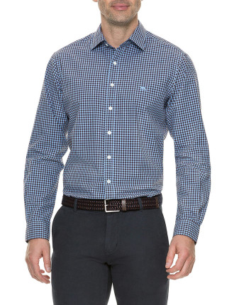 Balmedie Ridge LS Shirt Cornflower