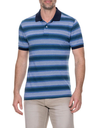 Blue Spur Sports Fit Polo Reef
